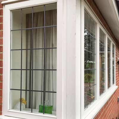 Photo of a window frame by Henley Joinery