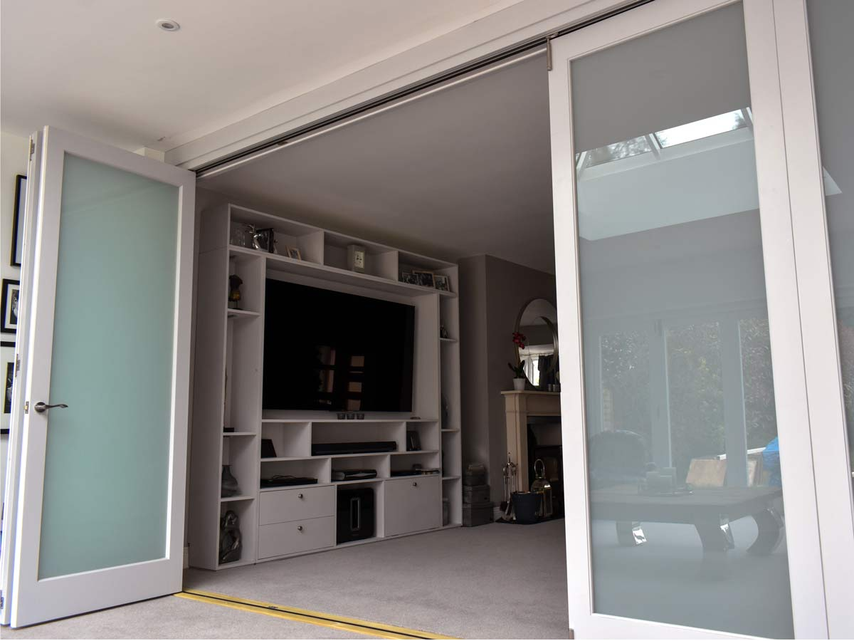 Bi-fold doors and Joinery by Henley Joinery